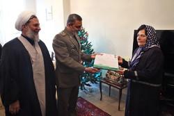 سرلشکر موسوی با خانواده شهید ارمنی دیدار کرد