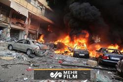 """انفجار در میدان """"الحمام"""" لاذقیه سوریه"""