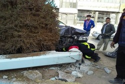 سکوت مسئولان ترافیک شهری کرمان در قبال حوادث یک خیابان
