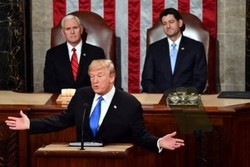 پافشاری ترامپ بر ایراد سخنرانی سالانه ریاست جمهوری در ۲۹ ژانویه