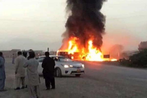 تصادف مرگبار در پاکستان جان ۲۷ تن را گرفت