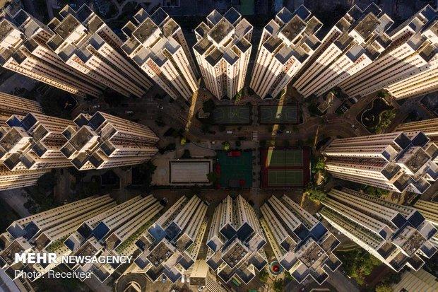 هنگ کنگ از نمای بالا