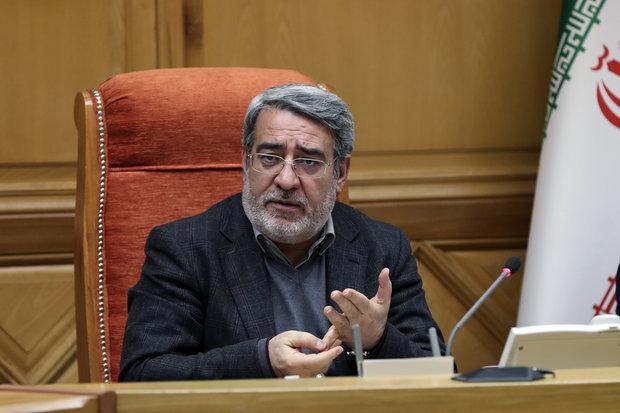 Resisting sanctions Iran's top priority: Interior min.
