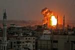 حملات هوایی رژیم صهیونیستی به مواضع حماس در نوار غزه