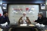 حجت الاسلام محسنی اژہ ای کا مہر نیوز ایجنسی کا دورہ