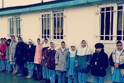 ۷۰ مدرسه کانکسی درچاراویماق/ کلاسهایی که در کانکس برگزار میشود