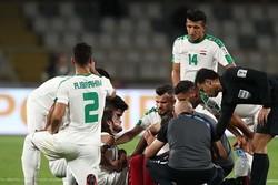 هافبک تیم ملی عراق به کلینیک استقلال رفت