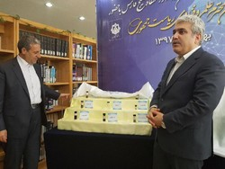 Vice President for science and technology Sourena Sattari (r) pays visit to knowledge-based companies in Bushehr on Monday
