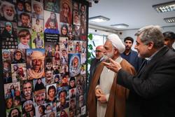 المتحدث باسم السلطة القضائية يقوم بجولة بوكالة مهر للأنباء/صور