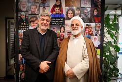 حضور «حجت الاسلام محسنی اژه ای» در خبرگزاری مهر