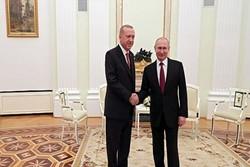 پوتین کا ترکی کے ساتھ تعلقات پر اطمینان کا اظہار