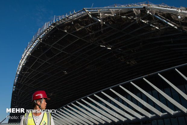 ساخت بزرگترين پايانه فرودگاهي جهان