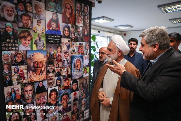 Judiciary spokesman visits Mehr News HQ in Tehran