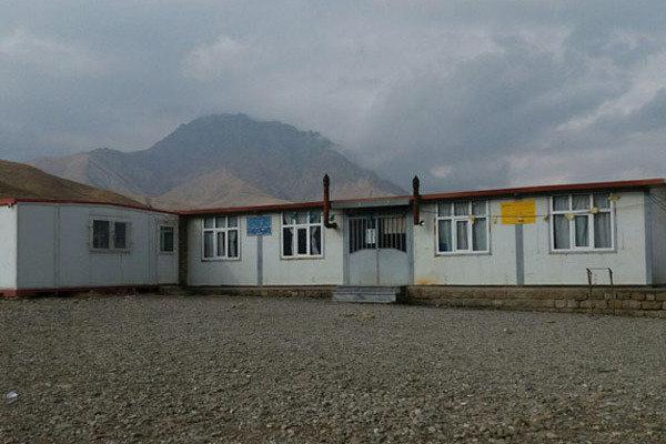 تحصیل دانشآموزان روستاهای سیلزده پلدختر در کانکس