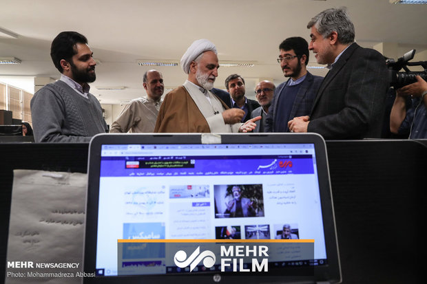 گزارش ویدئویی بازدید معاون اول قوه قضائیه از خبرگزاری مهر