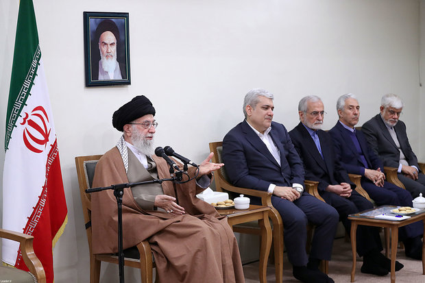Leader meets officials of Institute for Cognitive Science Studies