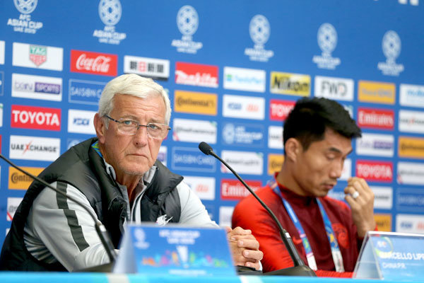 Lippi says 'no room for mistakes' against 'organized' Iran
