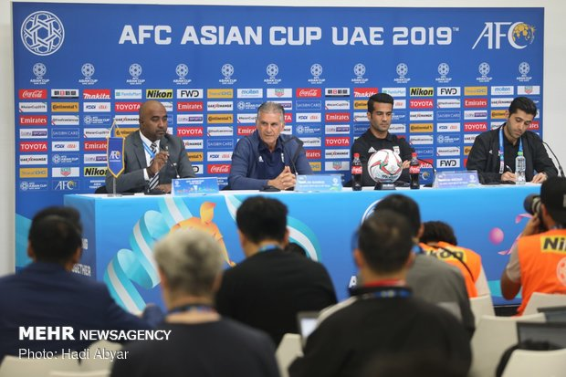 Iran-China pre-match press conference