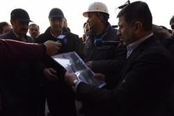 وزیر راه از آزادراه تهران - شمال بازدید کرد