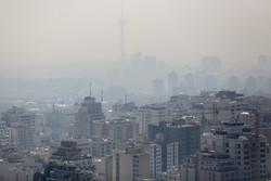 تہران کی آلودہ ہوا