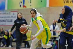 پیروزی تیم بانوان بسکتبال جوانان اروند برابر چهارمحال و بختیاری