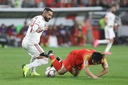 دیدار تیم های ملی فوتبال ایران و چین