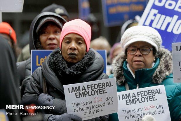 زمستان سخت کارمندان دولت آمریکا