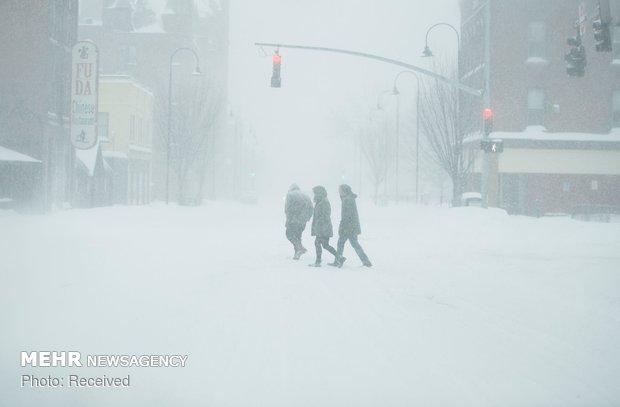 بیجنگ میں شدید سردی سے معمولات زندگی متاثر