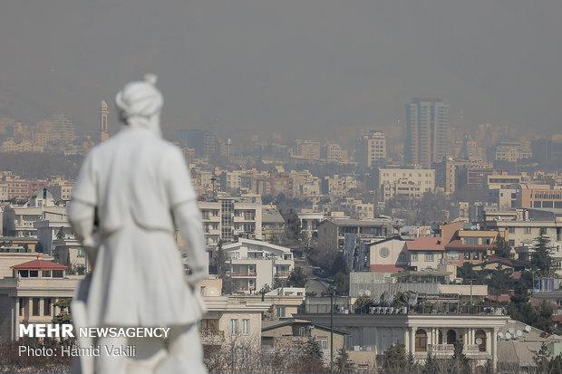 هوای ناسالم تهران