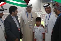 BAE spor yetkililerinden İranlı çocuğa sürpriz