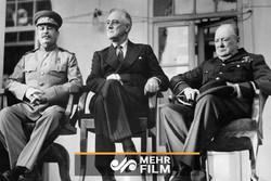 ذلت رژیم پهلوی مقابل سران متفقین