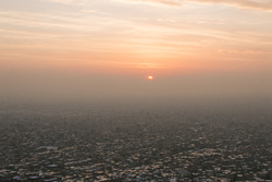 هوای شهرستان های قروه و کامیاران در شرایط ناسالم قرار دارد