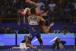 Iran finishes 2nd at Greco Roman wrestling in Kazakhstan