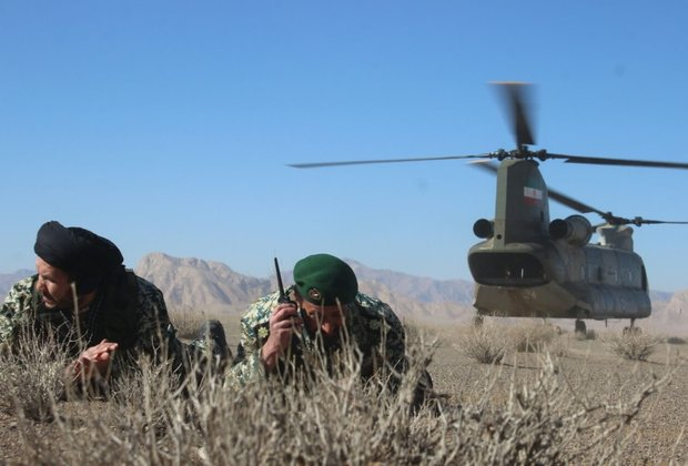 Iran Army kicks off massive 'Eghtedar 97' war games
