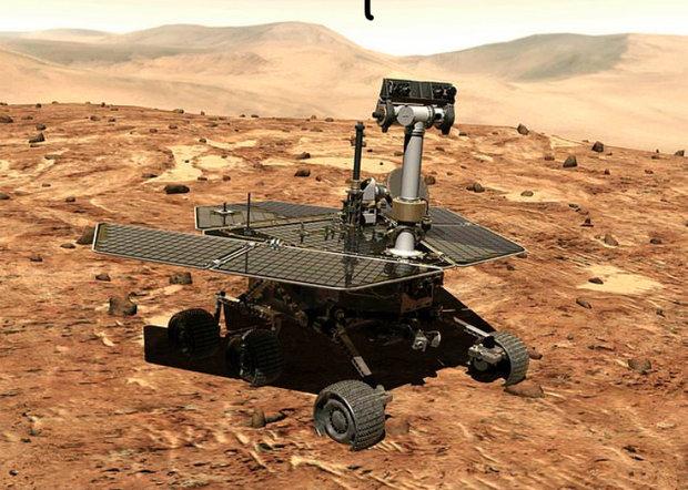 پانزدهمین سالگرد فرود مریخ نورد «فرصت» در سیاره سرخ