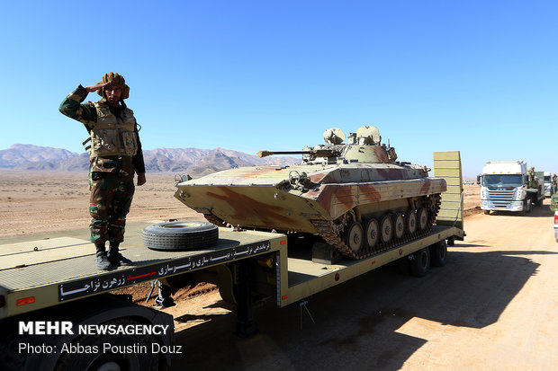 Final stage of 'Eghtedar 97' military drills starts in
