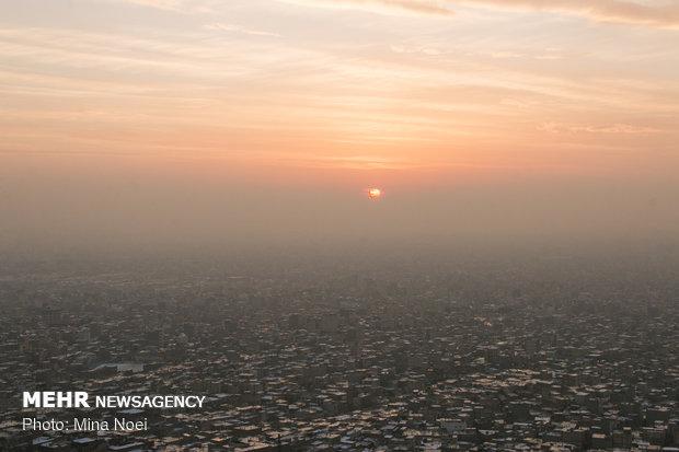 ثبت هوای ناسالم در شهرستان گچساران طی هفته گذشته