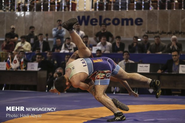 Takhti Cup intl. wrestling tournament