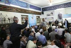مسجد محله سرچشمه میزبان دیدار مردمی آیتالله علما