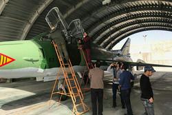جنگنده های «گاندو» در شیراز به پرواز درآمدند/ آخرین لوکیشن ایران