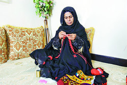'Needlework' a common craft in southern Iran