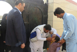 مرحله دوم واکسیناسیون فلج اطفال در سیستان و بلوچستان آغاز شد
