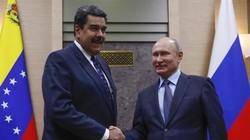 Vladimir Putin and Nicolás Maduro