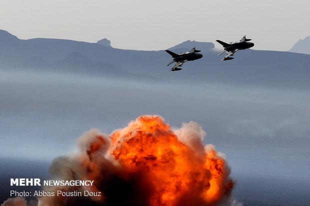 مرحله نهایی رزمایش اقتدار ۹۷ نیروی زمینی ارتش