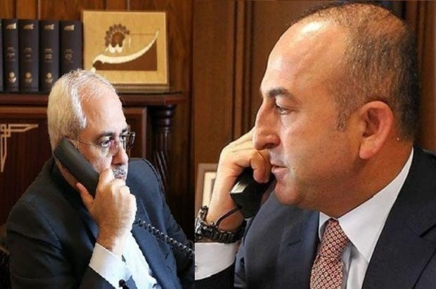 Iran, Turkey FMs discuss Venezuela over phone