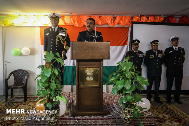 Celebrating India's Republic Day in Tehran