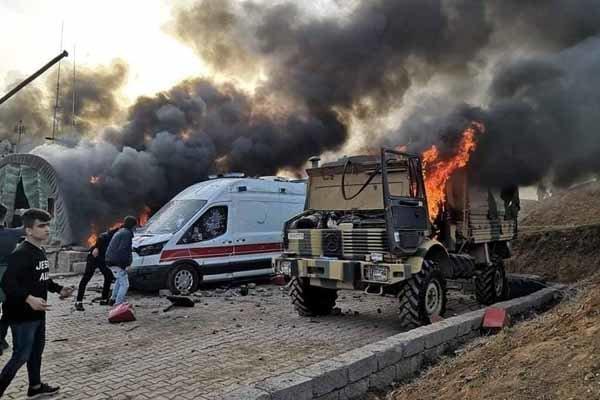 Türkiye: Kuzey Irak'ta üs bölgemize saldırı gerçekleşti