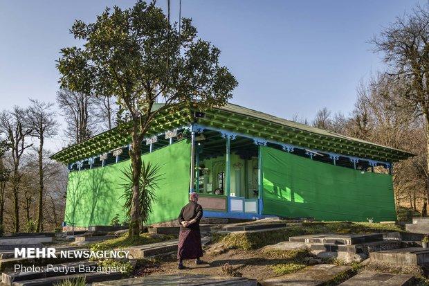 الأربعين عامود في لاهيجان
