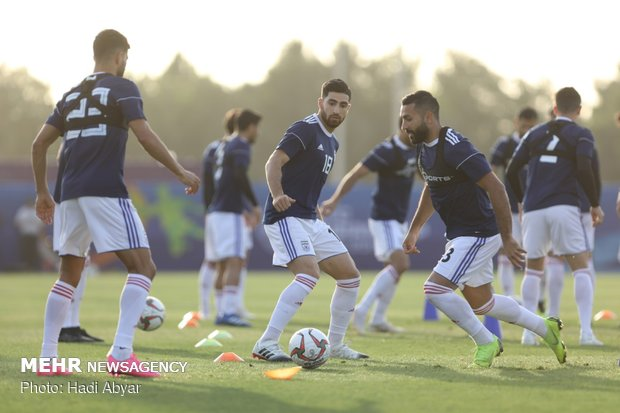 Team Melli gearing up to face Japan at semis