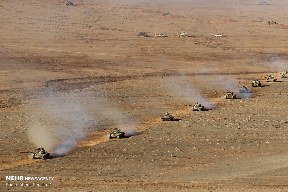 Iran Army ends 'Eghtedar 97' military drills